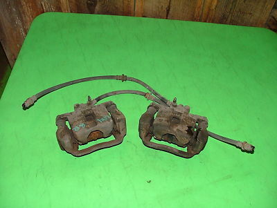 02 Subaru Impreza WRX Turbo REAR BRAKE CALIPERS OEM L R