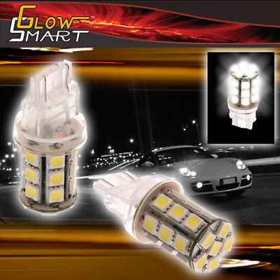 2 x 3157 24SMD LED Tail Turn Brake Light Bulb White