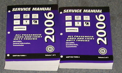 2006 GM Transmission Car Light Truck Service Manual Set