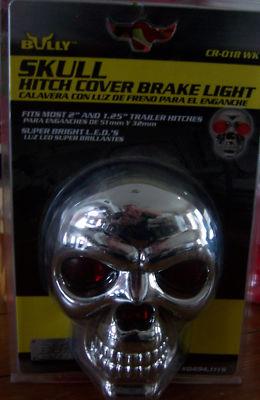 Bully Skull Hitch Cover Brake Light  in box