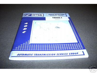 AODE 4R70W ATSG TRANSMISSION SERVICE REBUILD MANUAL