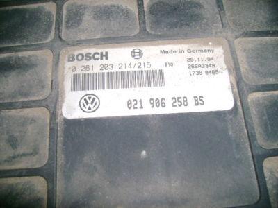 95 JETTA PASSAT VR6 ecu engine computer 021 906 258 BS