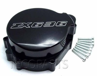 20032004 Kawasaki ZX 636 Black Stator Engine Cover B