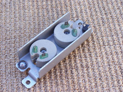 85.5 PORSCHE 944 951 Engine Dual cooling fan resistors