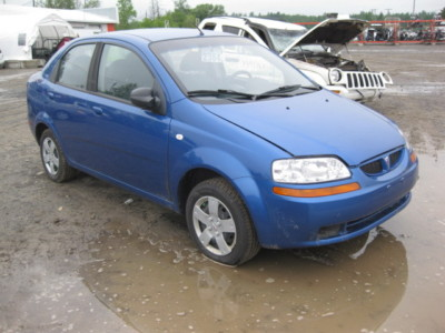 04 05 06 AVEO MANUAL TRANSMISSION 5 SPD
