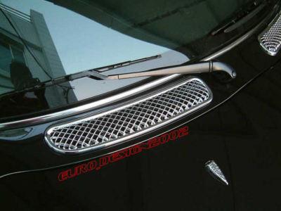 BMW MINI Cooper ONE CHROME Bonnet Hood Air Vent Scoop