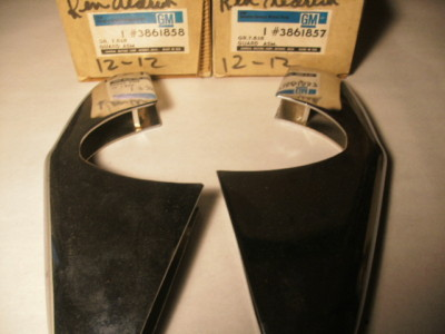 NOS GM Bumper Guards CORVAIR 1960 1961 1962 1963 1965