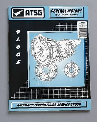 TCI Transmission Technical Overhaul Manual 893300