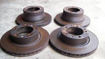 1988 Porsche 951 944 Turbo  Set of (4) Brake Rotors