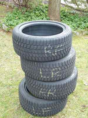 4 Bridgestone Blizzak 235/45/17 94H Rated Winter Tires