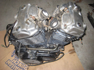 Motor Engine Runs, good comp 83 1983 Honda Shadow VT500
