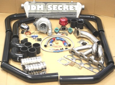 SPEC T3/T4 TURBO KIT CIVIC CRX DEL SOL D15 D16Y7 D16Y8
