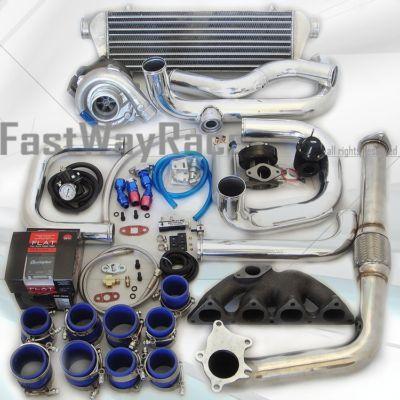 8800 Civic EX LX DX B16 B18 Cast Iron T3/T4 Turbo Kit