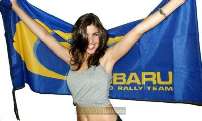 DELUXE  SUBARU wrx wrc IMPREZA TURBO banner flag
