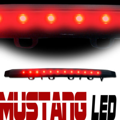 FORD MUSTANG GT BASE COUPE 3RD BRAKE TAIL LIGHTS SMK