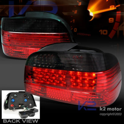 19952001 BMW E38 RED/SMOKE LED BRAKE TAIL LIGHTS
