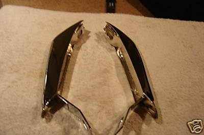 1965,1966 MUSTANG REAR BUMPER GUARDS  PAIR
