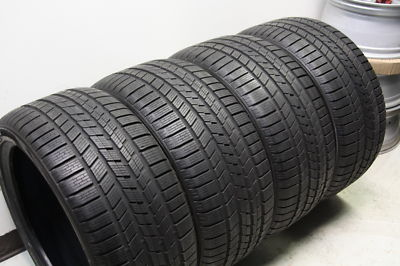4 Pirelli Snow 295/35/21 Winter Tires Cayenne GTS Turbo