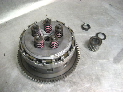 04 05 Suzuki GSXR 600 Engine Complete Clutch Basket