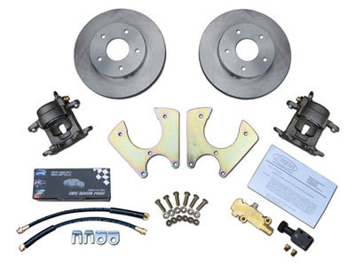 GM Complete Rear Disc Brake Conversion 10 & 12 Bolt