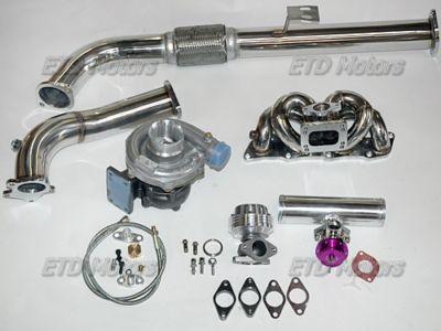 9194 240SX S13 KA24DE KA24DET Manifold Turbo kit