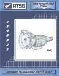 ZF 4HP22, ATSG TRANSMISSION MANUAL (69400A)
