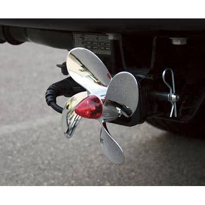 Bully Propeller Hitch Cover with LED Brake Light