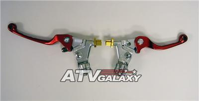 ASV F3 Front Brake & Clutch Levers Perch Honda CRF100