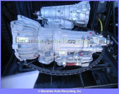 BMW 525i 4DR E34 TRANSMISSION  ASSEMBLY Automatic