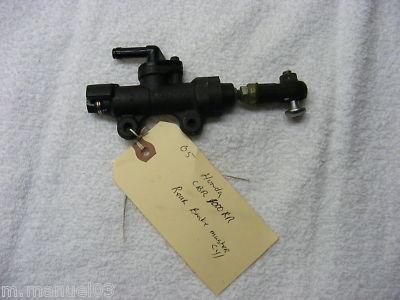05 HONDA CBR1000 RR CBR 1000 REAR BRAKE MASTER CYLINDER