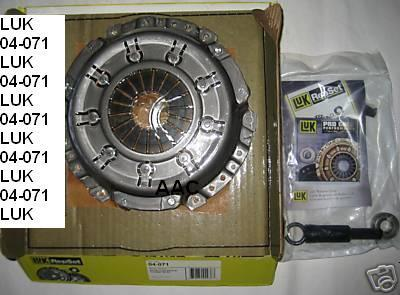 Isuzu,ChevyTrooper,Luv,PU 198095 Luk Clutch 04071
