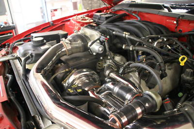 06 07 08 Ford Mustang Gt Hellion 76mm bb turbo kit