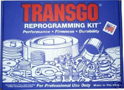 TRANSGO 4L60E SHIFT KIT TRANSMISSION STAGE 3 MANUAL