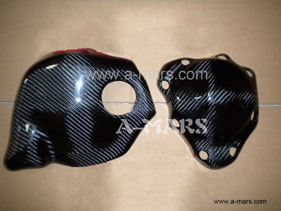 ?0910 YAMAHA R1 carbon fiber engine cover