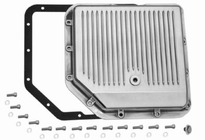 aluminum transmission pan turbo 350 with hardware