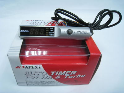 APEXI TURBO TIMER For NA TURBO Black Contro