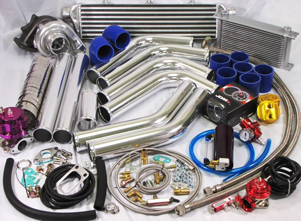 Universal T3/t4 Turbo Kit 9599 TALON ECLIPSE RS GS CB