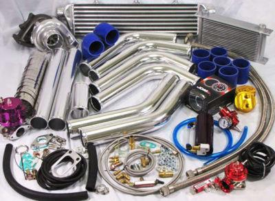 DIY Universal Turbo Kit T3 T4Intercooler PipingFMIC C