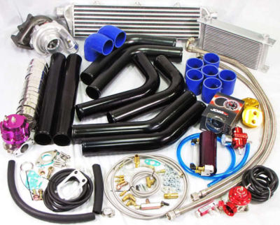 Universal T3/t4 Turbo KitOIL COOLERIntercoolerPIPING