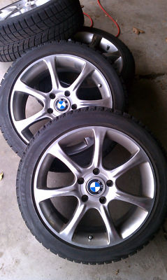 BMW M3 Winter Tires and Wheels