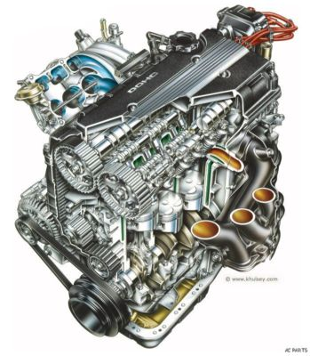 200608 Chevy Cobalt 2.4L 4CYL Automatic Engine Motor