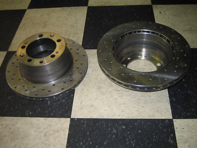 Porsche 944 Turbo S2 968 '87 '91 Rear Brake Rotors