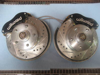 1965 65 CHEVELLE STOCK SPINDLE WILWOOD DISC BRAKE KIT