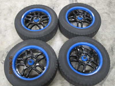 JDM 4 X 100 WHEELS WITH GOOD WINTER TIRES