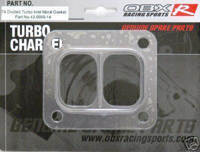 T6 T06 Twinscroll Turbo Gasket,Gart T6, OBX Gasket