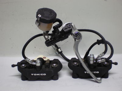 SUZUKI GSXR 600 750 FRONT BRAKE ASSEMBLY 2008 2009