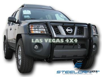 2005  2011 Nissan Xterra   Black Grill Brush Guard