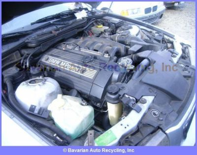 BMW M3 4DR E36 ENGINE  ASSEMBLY Long Block parts