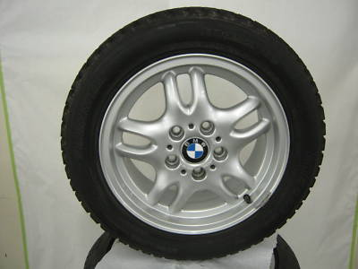 BMW OEM 16″ WHEELS & WINTER TIRES