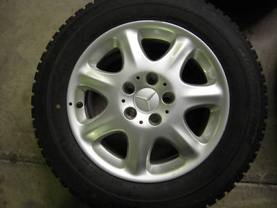 OEM Mercedes Alloy Wheels & Winter Tires